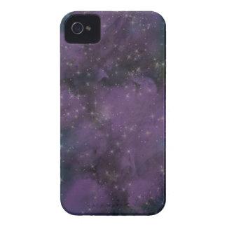 Carcasa Para iPhone 4 De Case-Mate Nebulosa púrpura de la galaxia