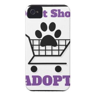 Carcasa Para iPhone 4 De Case-Mate No haga compras adoptan