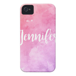 Carcasa Para iPhone 4 De Case-Mate Nombre de Jennifer