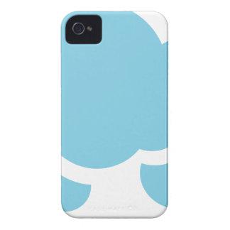 Carcasa Para iPhone 4 De Case-Mate Nubes azules