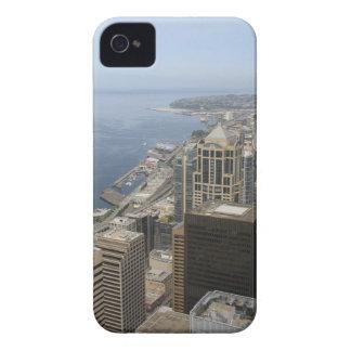 Carcasa Para iPhone 4 De Case-Mate Opinión de Arial de Seattle