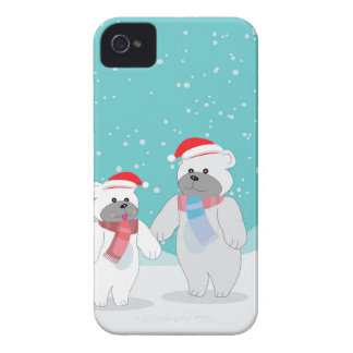Carcasa Para iPhone 4 De Case-Mate oso polar B