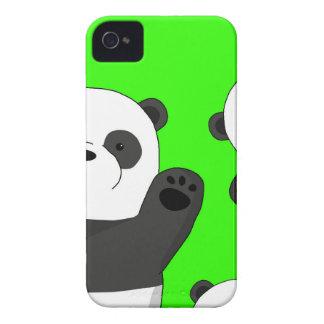 Carcasa Para iPhone 4 De Case-Mate Pandas lindas
