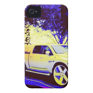 CARCASA PARA iPhone 4 DE Case-Mate PARADA DE CAMIONES DE MID-KNIGHT