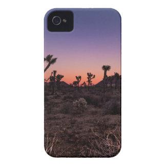 Carcasa Para iPhone 4 De Case-Mate Parque nacional de la yuca de la puesta del sol