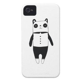 Carcasa Para iPhone 4 De Case-Mate Pequeña panda blanco y negro