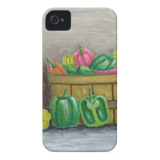Carcasa Para iPhone 4 De Case-Mate pimientas