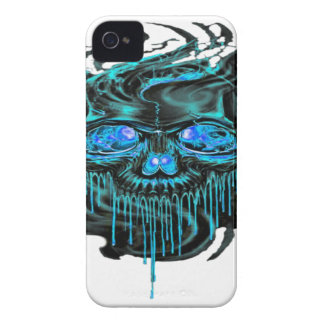 Carcasa Para iPhone 4 De Case-Mate Png de los esqueletos del hielo del invierno