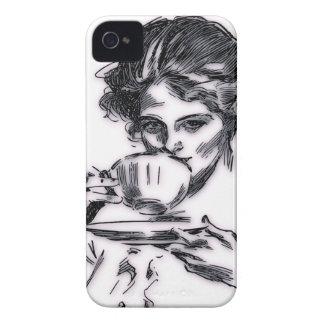 Carcasa Para iPhone 4 De Case-Mate Retrato
