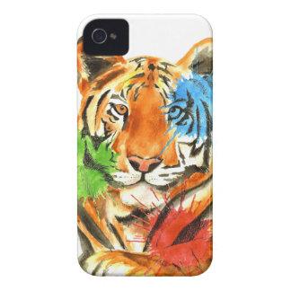 Carcasa Para iPhone 4 De Case-Mate Salpicadura del tigre