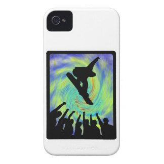 Carcasa Para iPhone 4 De Case-Mate Seguidores de la snowboard