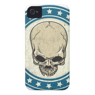 CARCASA PARA iPhone 4 DE Case-Mate SKULL-RIBBON
