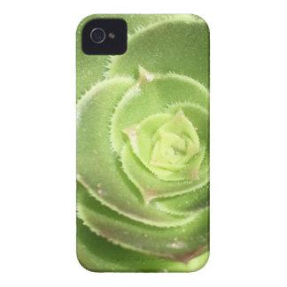 Carcasa Para iPhone 4 De Case-Mate Succulent verde
