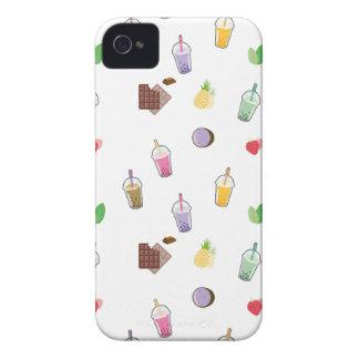 Carcasa Para iPhone 4 De Case-Mate Té de la burbuja de Kawaii