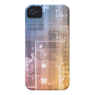 Carcasa Para iPhone 4 De Case-Mate Tecnología futurista como arte de la generación