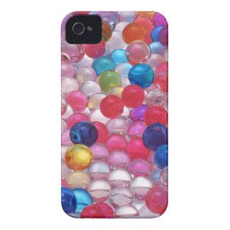 Carcasa Para iPhone 4 De Case-Mate textura de las bolas de la jalea del colore