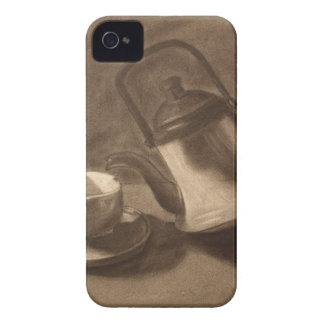 Carcasa Para iPhone 4 De Case-Mate Todavía de la tetera vida