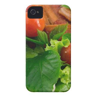 Carcasa Para iPhone 4 De Case-Mate Tomates de cereza, hierbas, aceite de oliva,