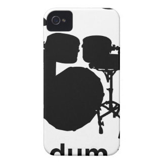 Carcasa Para iPhone 4 De Case-Mate Tss de Dum de los vagos