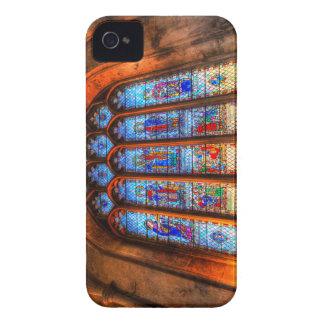 Carcasa Para iPhone 4 De Case-Mate Ventana de la abadía del vitral