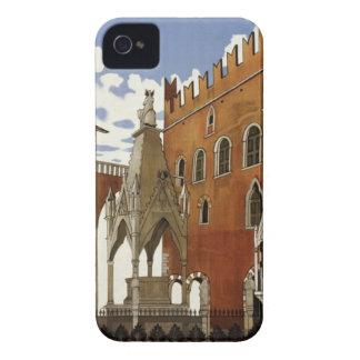 Carcasa Para iPhone 4 De Case-Mate Viaje de Verona del vintage
