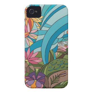 Carcasa Para iPhone 4 De Case-Mate Vida tropical