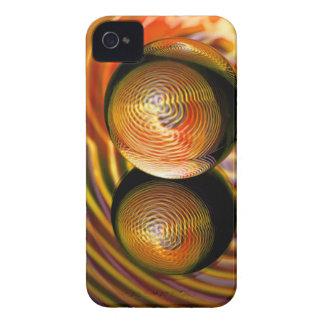 Carcasa Para iPhone 4 De oro en la bola de cristal