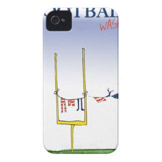 Carcasa Para iPhone 4 Día del lavado del fútbol, fernandes tony