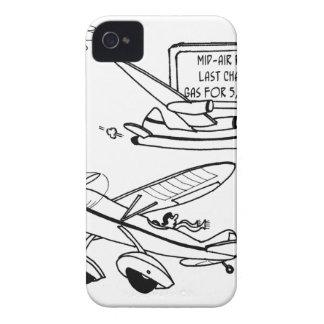 Carcasa Para iPhone 4 Dibujo animado 3682 del vuelo