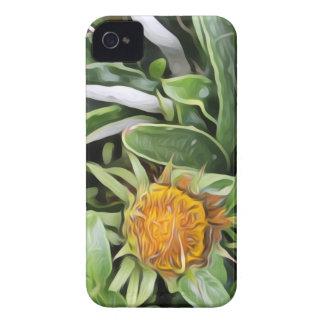 Carcasa Para iPhone 4 Diente de león un la Van Gogh