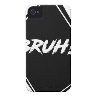 """Carcasa Para iPhone 4 Diseño de la palabra de """"Bruh"""""""