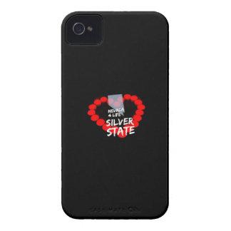 Carcasa Para iPhone 4 Diseño del corazón de la vela para el estado de