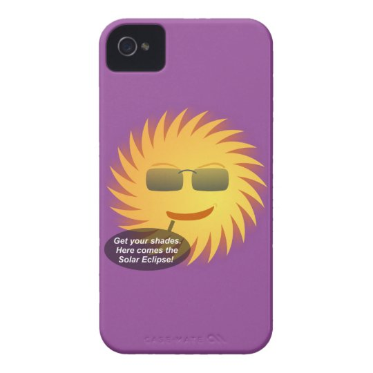 Carcasa Para iPhone 4 Eclipse solar