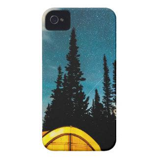 Carcasa Para iPhone 4 El acampar de la estrella