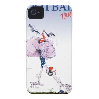 Carcasa Para iPhone 4 El fútbol aterriza, los fernandes tony