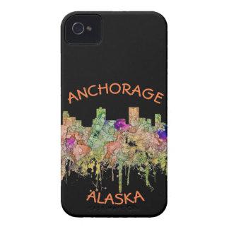 Carcasa Para iPhone 4 El horizonte de Anchorage Alaska SG-Se descoloró