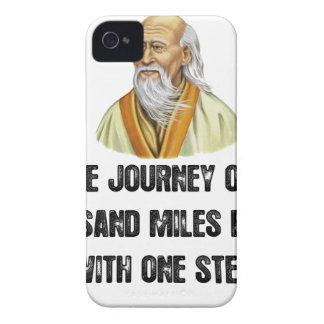 Carcasa Para iPhone 4 el viaje de mil millas comienza con un canto