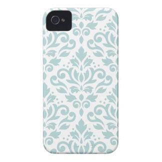 Carcasa Para iPhone 4 Enrolle el azul del huevo del pato de LG Ptn del