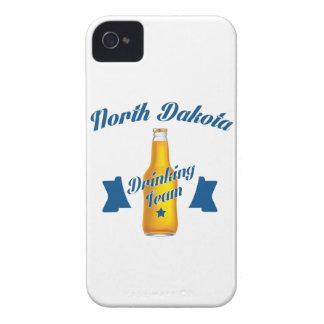 Carcasa Para iPhone 4 Equipo de consumición de Dakota del Norte