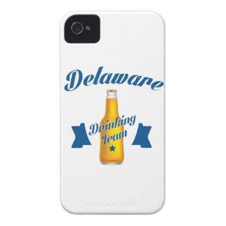 Carcasa Para iPhone 4 Equipo de consumición de Delaware