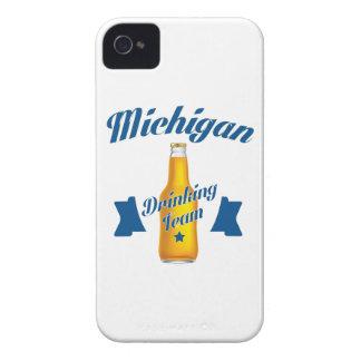 Carcasa Para iPhone 4 Equipo de consumición de Michigan