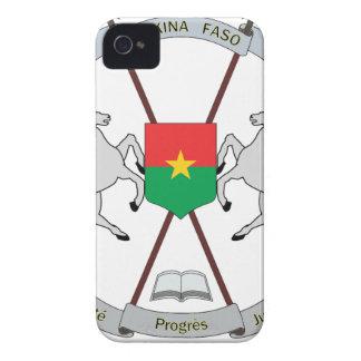 Carcasa Para iPhone 4 Escudo de armas Burkina Faso - Armoiries Burkina