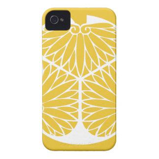 Carcasa Para iPhone 4 Escudo de lunes del clan de Tokugawa
