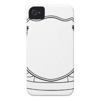 Carcasa Para iPhone 4 Escudo heráldico del escudo de armas del escudo de