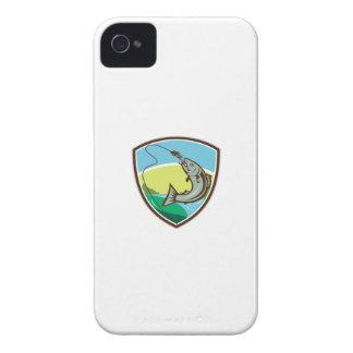 Carcasa Para iPhone 4 Escudo penetrante del señuelo del gancho de la