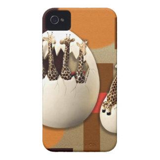 Carcasa Para iPhone 4 Estilo de la sabana