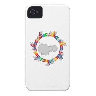Carcasa Para iPhone 4 Estrellas del hipopótamo