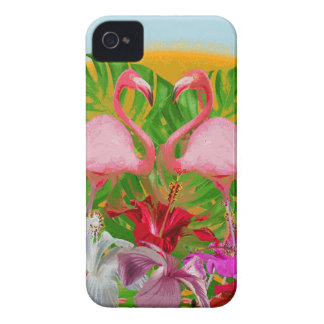 Carcasa Para iPhone 4 Flamenco
