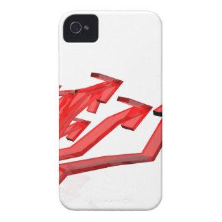 Carcasa Para iPhone 4 Flechas rojas