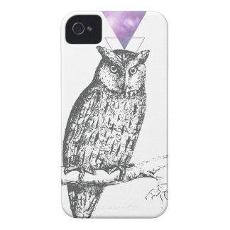 Carcasa Para iPhone 4 Galaxy owl 1